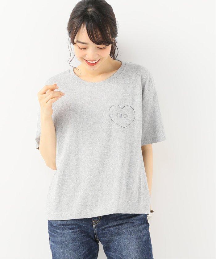 SHAMAN ロゴTシャツ PTIT CON