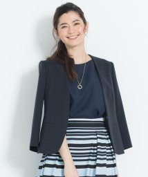 JIYU-KU /【機能性あり】COOL WASHABLE フリージャケット ノーカラー(検索番号/502269436