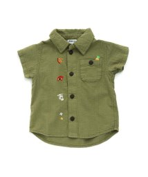BREEZE / JUNK STORE/ゆる刺繍シャツ/502002709