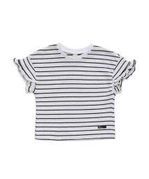 apres les cours/袖フリルTシャツ/502003282