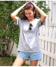 CHILLE/サイドスリットシンプルTシャツ/502020939