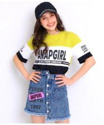 ANAP GiRL/配色切替チュニック/502040989