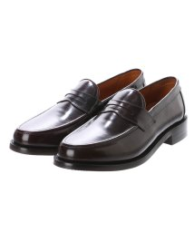 Oxford and Derby/オックスフォード アンド ダービー Oxford and Derby Coin Loafer (ダークブラウン)/502183082