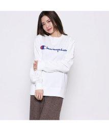 PCT/【ピーシーティー P・C・T】CREW NECK SWEATSHIRT (WHITE)/502189873