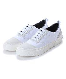 SLACK/スラック SLACK [SLACK FOOTWEAR] RECENT リセント スニーカー (WHITE/GRAY/WHITE)/502209497