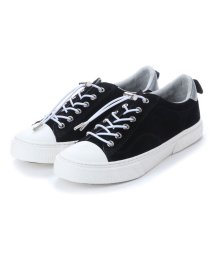 SLACK/スラック SLACK [SLACK FOOTWEAR]  (PREMIUM SUEDE) クルード スエード スニーカー (BLACK/WHITE)/502209500