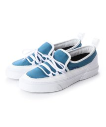 SLACK/スラック SLACK INTLOOP (CYAN BLUE/WHITE) スリッポン (CYAN BLUE/WHITE)/502209509