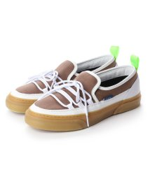 SLACK/スラック SLACK INTLOOP (ASH BROWN/WHITE)スリッポン (ASH BROWN/WHITE)/502209510