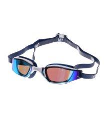 SPORTS DEPO/アルペンセレクト Alpen select 水泳 ゴーグル/小物 エクシード チタニウムブルーミラーレンズ ホワイト/ブルー 138950/502213218