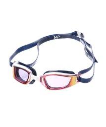 SPORTS DEPO/アルペンセレクト Alpen select 水泳 ゴーグル/小物 エクシード チタニウムレッドミラーレンズ ホワイト/ブルー 139230/502213226