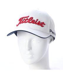 Titleist/タイトリスト Titleist メンズ ゴルフ キャップ ツアーキャップ 8CTR HJ8CTR (ホワイト)/502216671