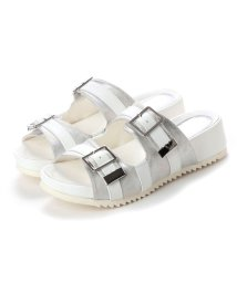the oasis/オアシス the oasis カップインソールスポーツサンダル (white/silver)/502221042