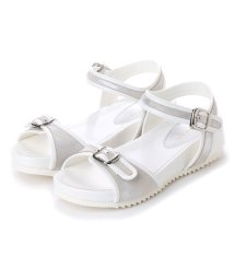 the oasis/オアシス the oasis カップインソールスポーツサンダル (silver/white)/502221064