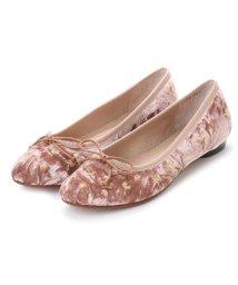 TSUMORI CHISATO WALK/ツモリチサト ウォーク tsumori chisato WALK 刺繍カッターパンプス (ピンク)/502228528