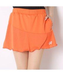 YONEX/ヨネックス YONEX テニススコート スカート(インナースパッツ付) 26027 オレンジ  (サンシャインオレンジ)/502243309