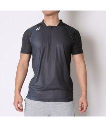 YONEX/ヨネックス YONEX ユニセックスTシャツ シャツ(スタンダードサイズ) 12128 ブラック  (ブラック)/502243320