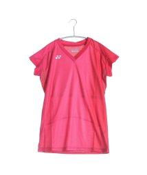 YONEX/ヨネックス YONEX テニスTシャツ シャツ(スリムロングフィットタイプ) 20297 レッド  (クリスタルレッド)/502243328