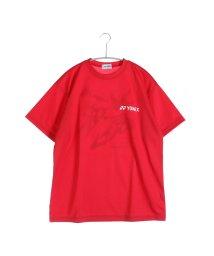 YONEX/ヨネックス YONEX テニスTシャツ ドライTシャツ RWAP1602 レッド  (クリスタルレッド)/502243537