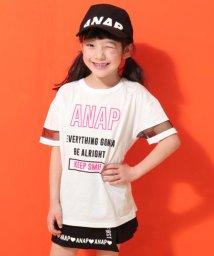 ANAP KIDS/袖チュール切替BIGトップス/502251298
