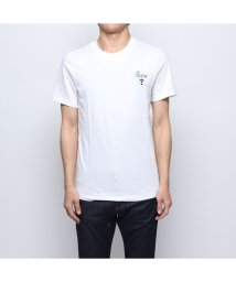 GUESS/ゲス GUESS PALM SMALL TRIANGLE LOGO TEE (WHITE)/502269061
