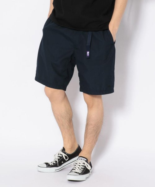 UNCUT BOUND(UNCUT BOUND)/THE NORTH FACE PURPLE LABEL(ザ・ノースフェイス パープルレーベル) 65/35 Washed Field Shorts/79619123-20