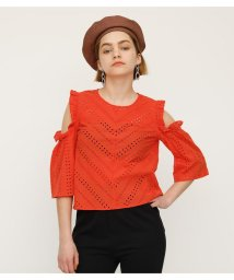 SLY/OPEN SHOULDER SCALLOP TOPS/502269869