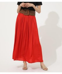 AZUL by moussy/GATHER FLARE SKIRT/502269903
