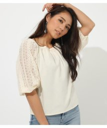 AZUL by moussy/2WAY LACE SLEEVE TOPS/502269907