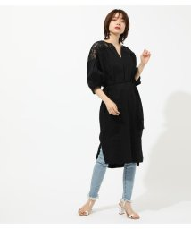 AZUL by moussy/LACE CAFTAN ONEPIECE/502269913