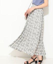 ViS/【WEB限定】小花柄プリーツロングスカート/502270193
