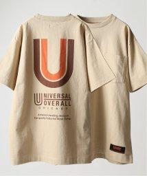 JOURNAL STANDARD relume Men's/《予約》UNIVERSAL OVERALL×relume / 別注 バックロゴTシャツ/502270325