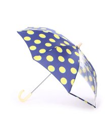 w.p.c/ダブリュピーシー w.p.c キッズ雨傘 ムーンドットネイビー45/502237575