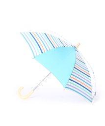 w.p.c/ダブリュピーシー w.p.c キッズ雨傘 マルチボーダーグリーン40/502237579