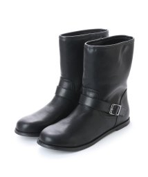 WAG/ワグ WAG ベルテッドショートブーツ (ブラック)/502238325