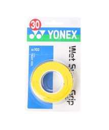 YONEX/ヨネックス YONEX グリップテープ ウエットスーパーグリップ(3本入) AC102 (イエロー)/502242632