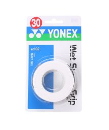 YONEX/ヨネックス YONEX グリップテープ ウエットスーパーグリップ(3本入) AC102 (ホワイト)/502242670