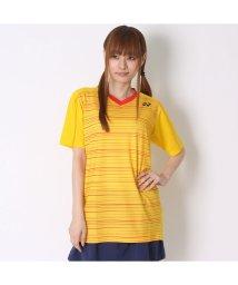 YONEX/ヨネックス YONEX ユニセックスTシャツ シャツ(スリムタイプ) 12124 イエロー  (コーンイエロー)/502243301