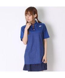 YONEX/ヨネックス YONEX テニス用ポロシャツ ポロシャツ(スリムタイプ) 12123 ブルー  (ダークブルー)/502243314
