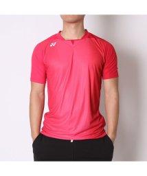 YONEX/ヨネックス YONEX ユニセックスTシャツ シャツ(スタンダードサイズ) 12128 レッド  (クリスタルレッド)/502243323