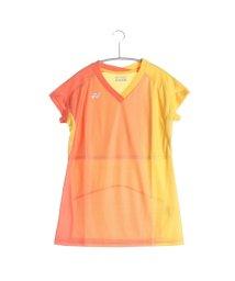 YONEX/ヨネックス YONEX テニスTシャツ シャツ(スリムロングフィットタイプ) 20297 イエロー  (コーンイエロー)/502243330