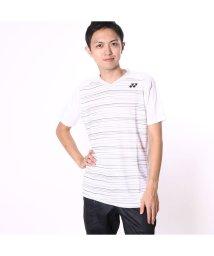 YONEX/ヨネックス YONEX ユニセックスTシャツ シャツ(スリムタイプ) 12124 ホワイト  (ホワイト)/502243335