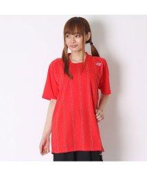 YONEX/ヨネックス YONEX ユニセックスTシャツ シャツ(スタンダードサイズ) 12134 レッド  (サンセットレッド)/502243522