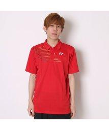 YONEX/ヨネックス YONEX テニス用ポロシャツ ポロシャツ(スタンダードサイズ) 12133 レッド  (クリスタルレッド)/502243524