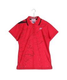 YONEX/ヨネックス YONEX テニス用ポロシャツ ポロシャツ(スリムロングタイプ) 20294 レッド  (クリスタルレッド)/502243813