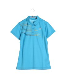 YONEX/ヨネックス YONEX テニス用ポロシャツ ポロシャツ(スリムロングフィットタイプ) 20302 ブルー  (ウォーターブルー)/502243814