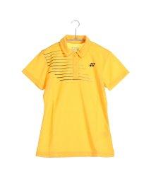 YONEX/ヨネックス YONEX テニス用ポロシャツ ポロシャツ(スリムロングフィットタイプ) 20302 イエロー  (コーンイエロー)/502243815