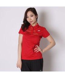 YONEX/ヨネックス YONEX テニス用ポロシャツ ポロシャツ(スリムロングフィットタイプ) 20302 レッド  (クリスタルレッド)/502243817