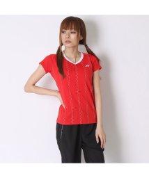 YONEX/ヨネックス YONEX テニスTシャツ シャツ(スリムロングフィットタイプ) 20303 レッド  (サンセットレッド)/502243831