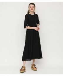 SLY/BACK OPEN WOVEN DRESS/502270486