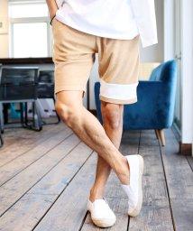 JIGGYS SHOP/パイルマルチパターン柄ショーツ / パイル ハーフパンツ メンズ ショートパンツ 膝上 短パン ペアルック カップル ルームウェア /500892162